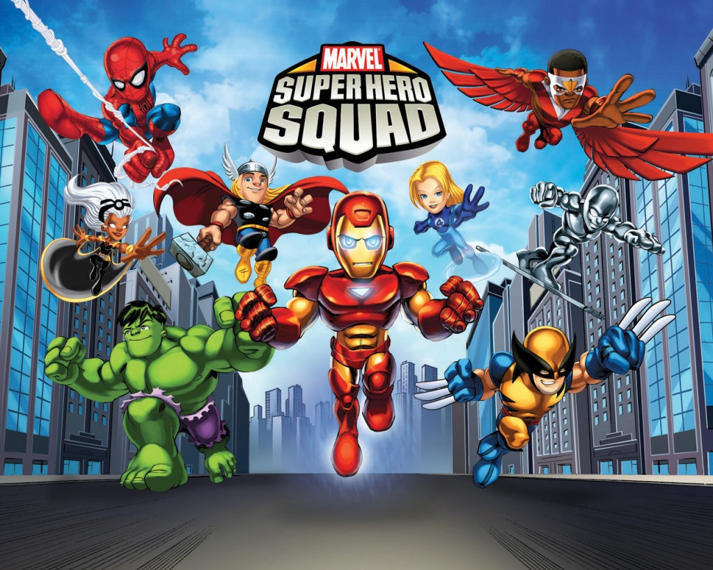 Marvel super hero squad online spider-man