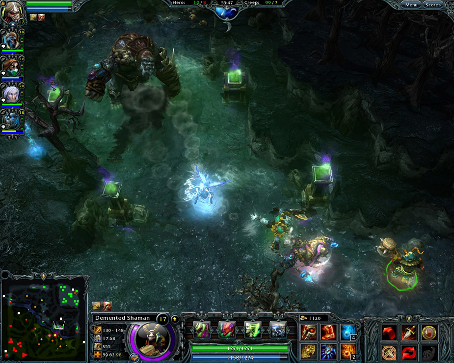 Heroes of Newerth Beta PC (dota clone)