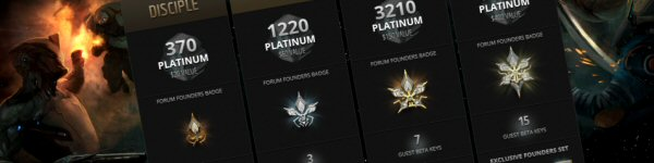 Founders Packs Warframe