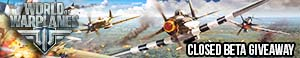 World of Warplanes Closed Beta Giveaway (EU)