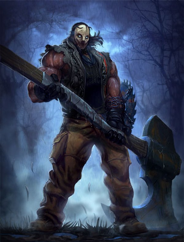 SMITE horror story: Slaughterhouse Chaac Skin coming Friday the 13th