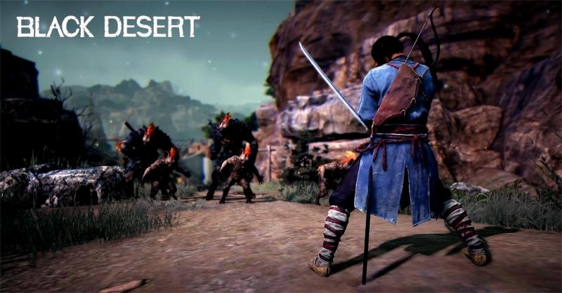 Black-Desert-Samurai