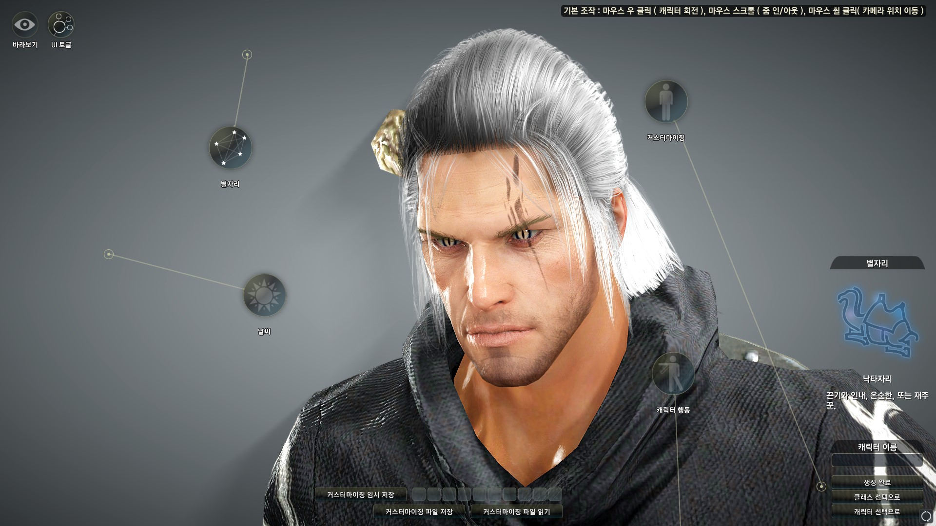 Here's what you can do with the Black Desert character ...