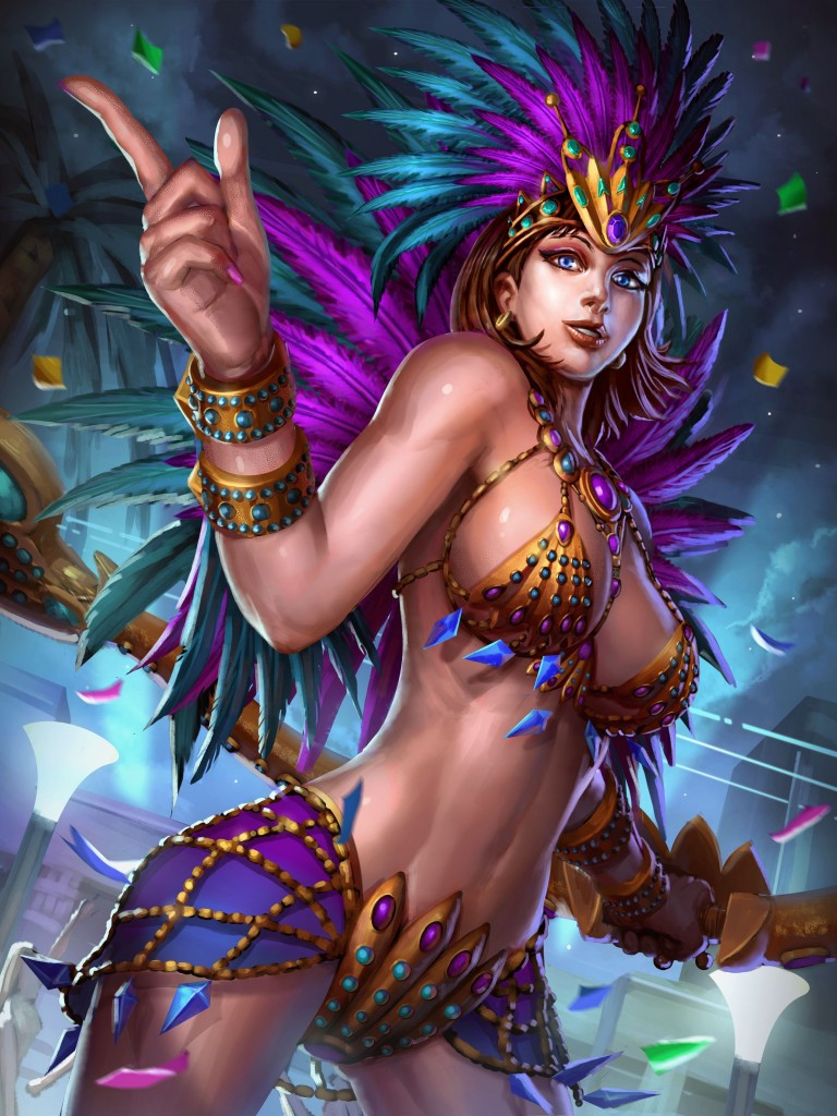 neith Carnaval queen