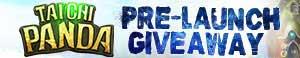 Taichi Panda Free Pre-launch Giveaway