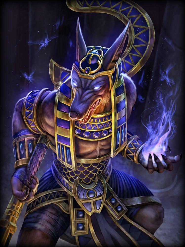 Golden Legendary Diamond Anubis