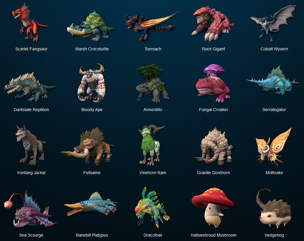 dragomon hunter creatures