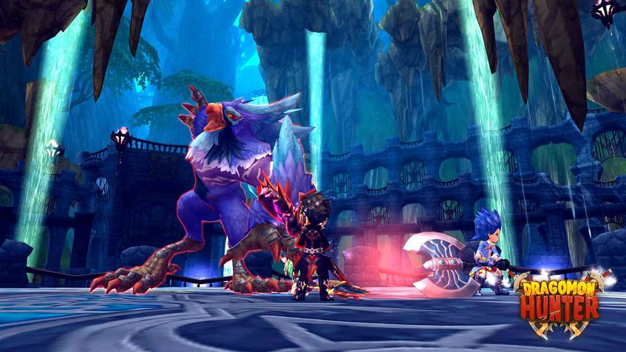 Dragomon_Hunter_-_Trial_Tower_1