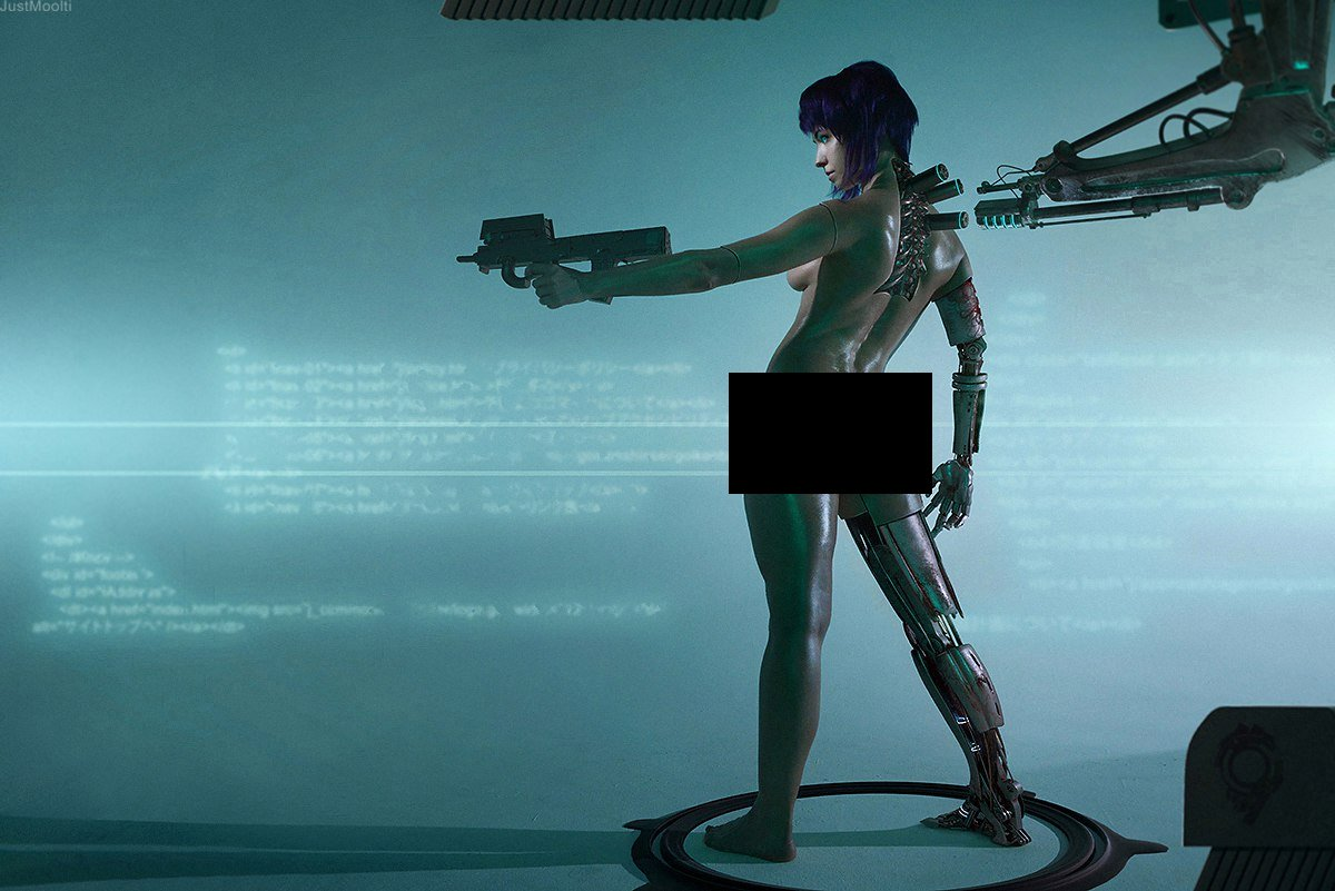 Ghost in the Shell Motoko (3)