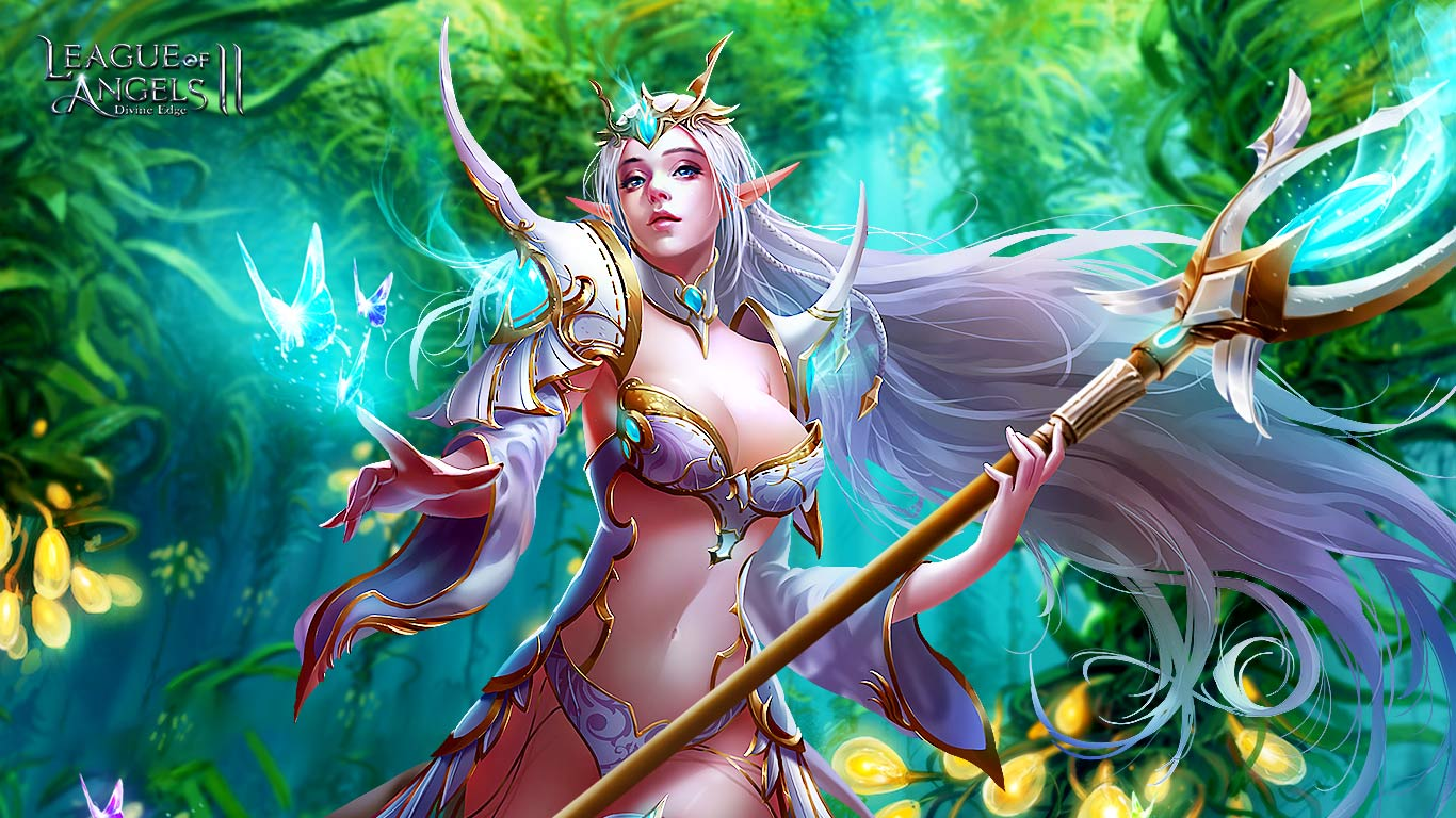 League of Angels 2 sexy wallpaper (10)