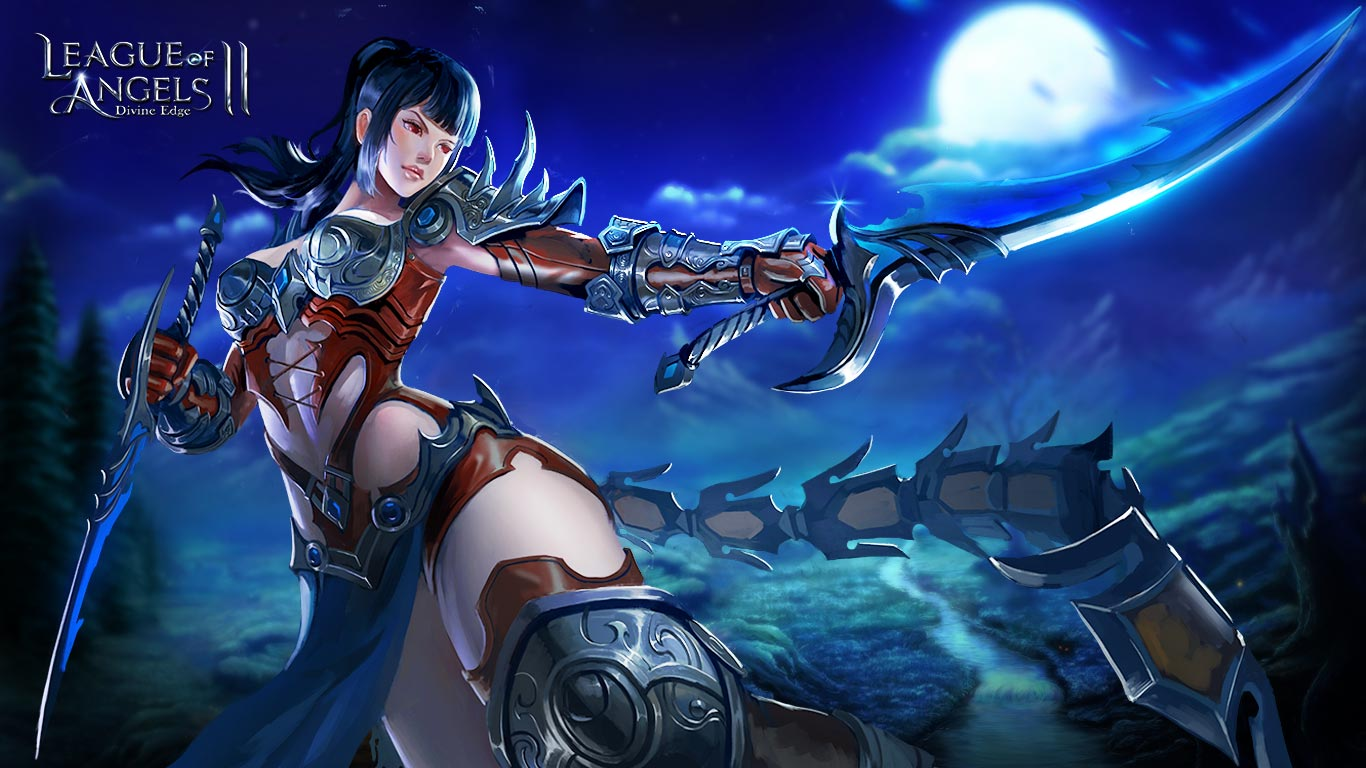 League of Angels 2 sexy wallpaper (2)