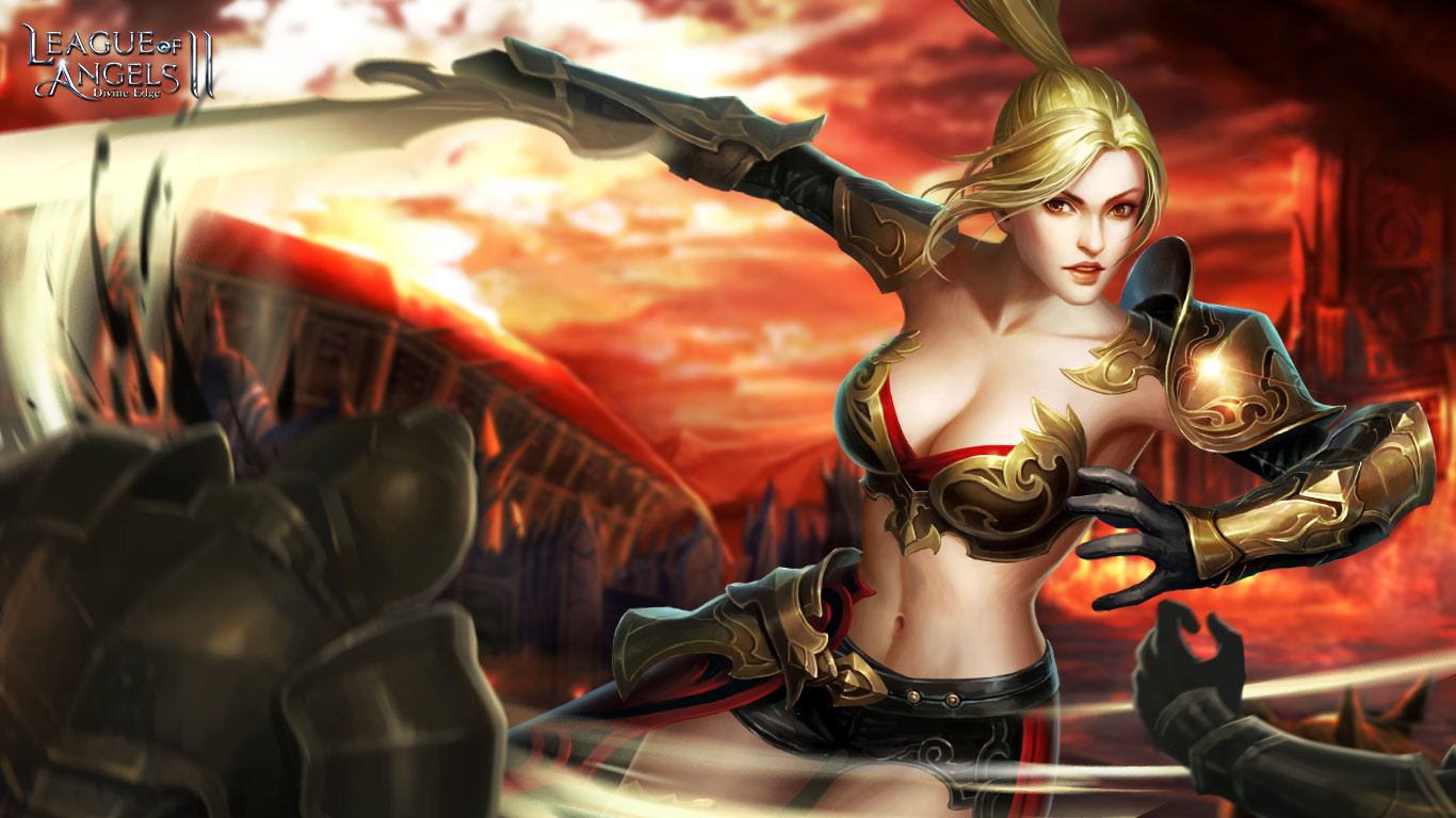 League of Angels 2 sexy wallpaper (4)