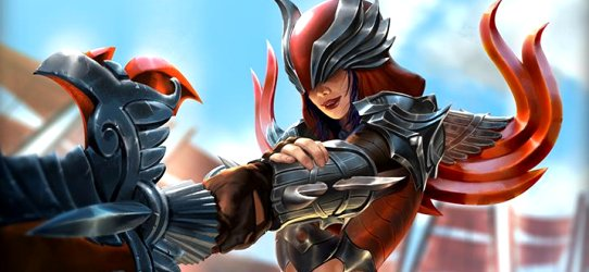 SMITE Nemesis Red Vengeance giveaway