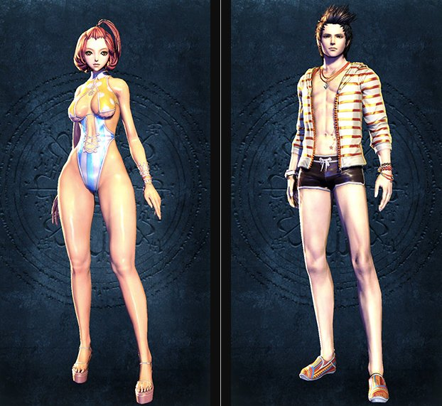 Blade & Soul Swimsuit Collection 1