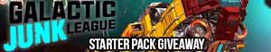 Galactic Junk League Free Starter Pack Key Giveaway (worth over $15)