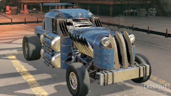 Crossout vehicle showcase
