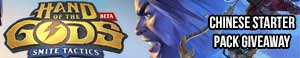 Hand of the Gods: SMITE Tactics Free Chinese Starter Pack Giveaway