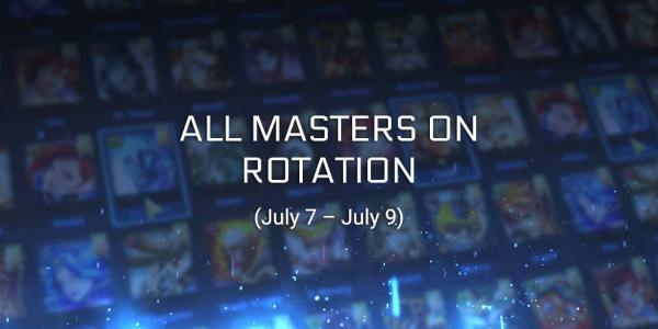 Master X Master free rotation