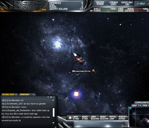 DarkOrbit Free MMO Shooter Game, Cheats & Review - FreeMMOStation com