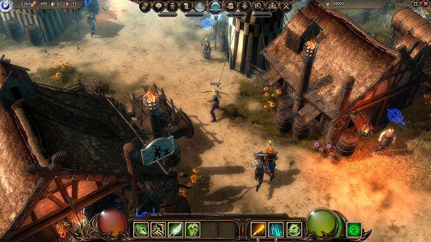 Mmo Games For Free : Drakensang online free mmo game cheats review