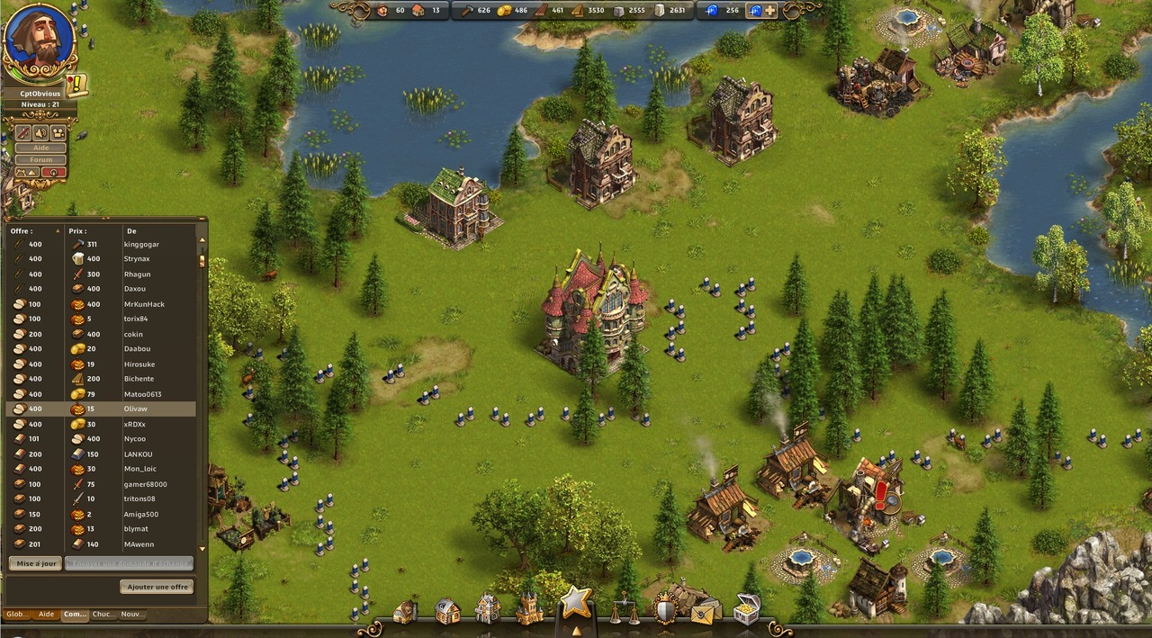 The settlers online castle empire free mmo game for Make a building online
