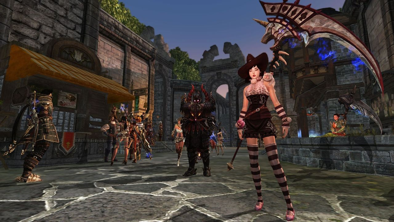 Continent of the Ninth Seal Free MMORPG Game