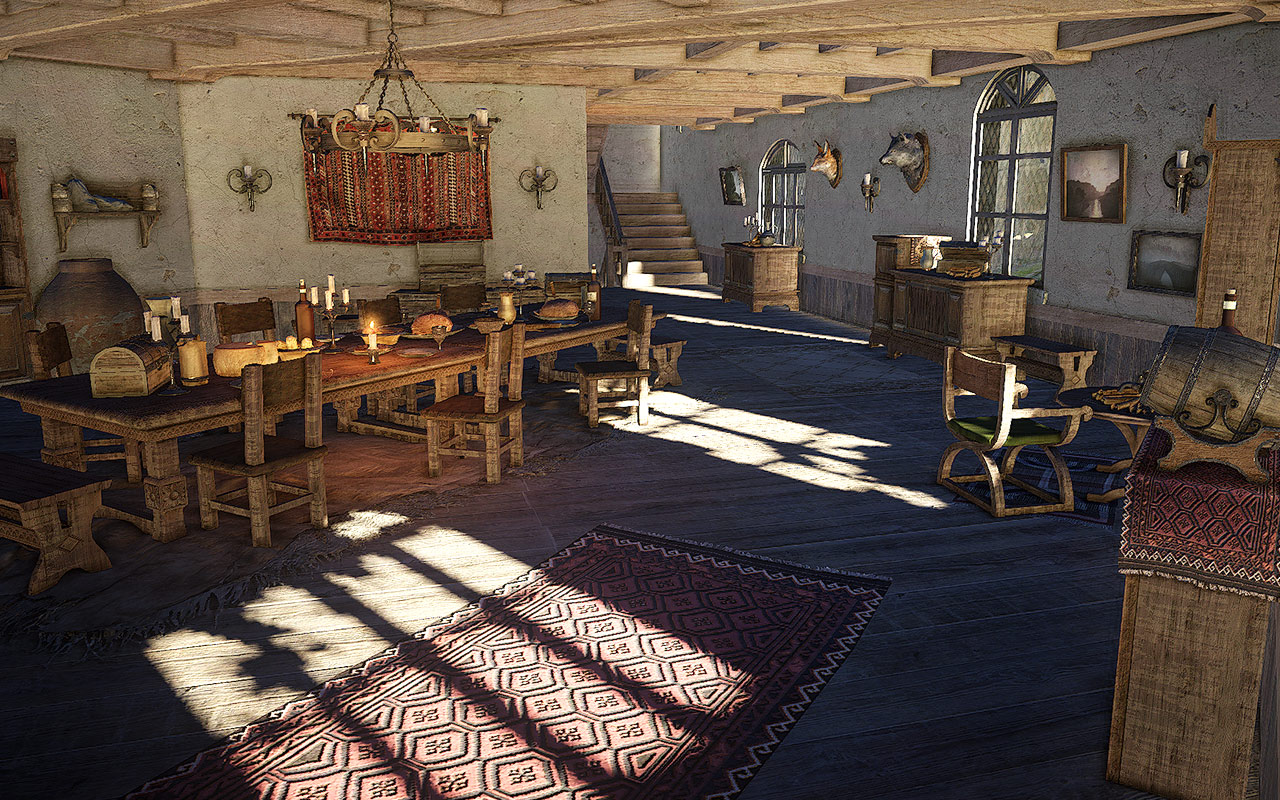 Black desert new screens show mounts and housing for Online house