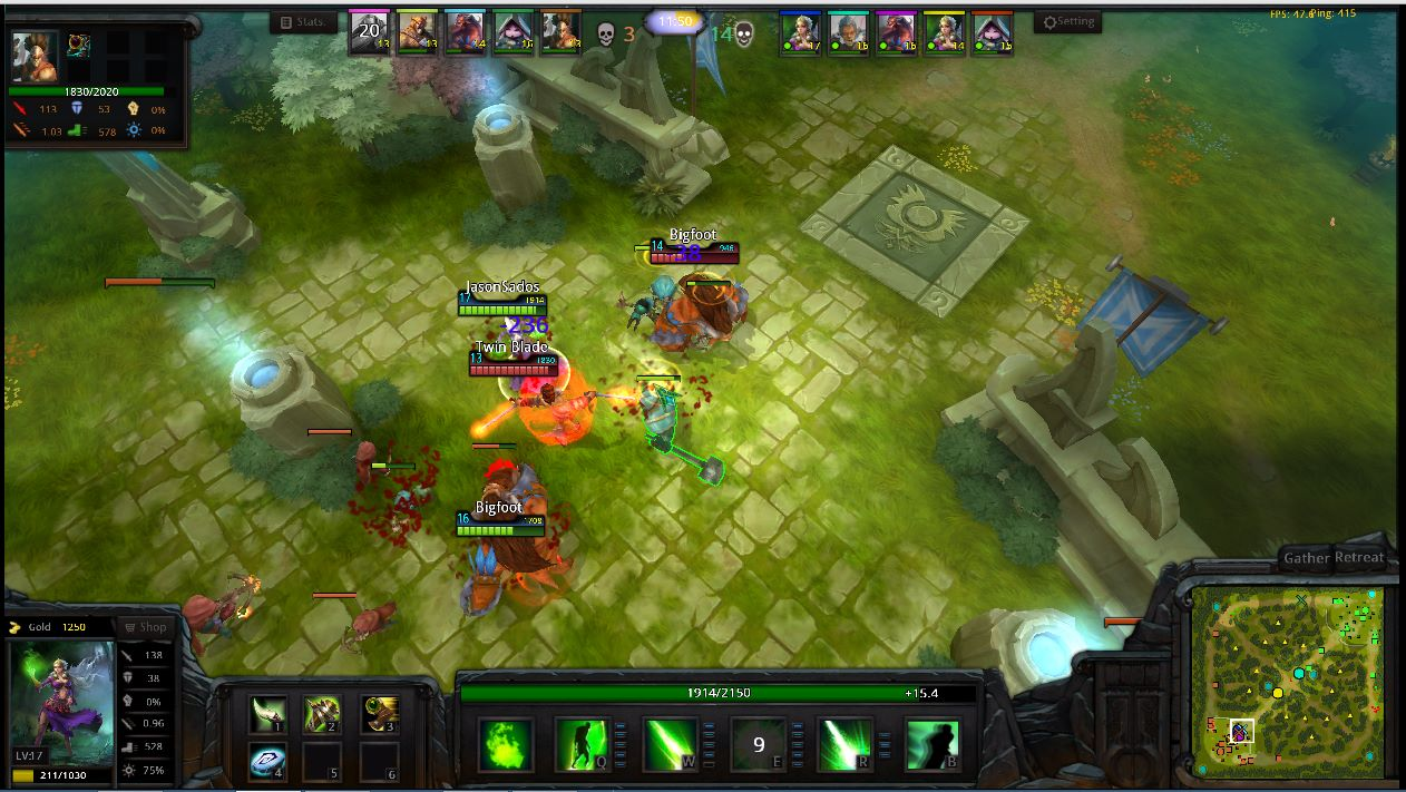 Moba Game Blizzard