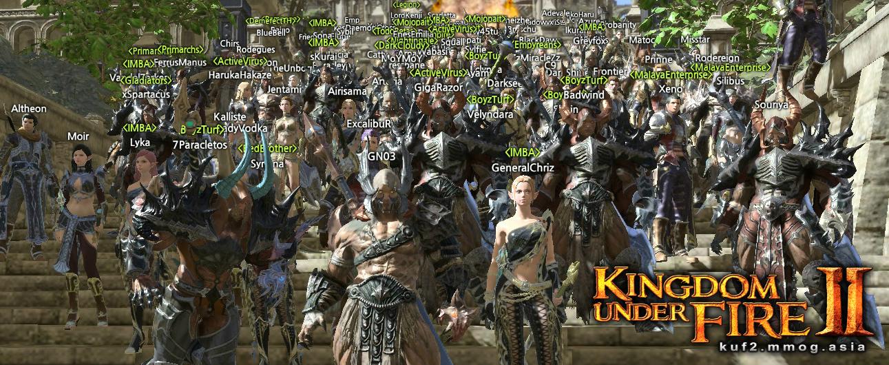 Kingdom Under Fire 2 beta test