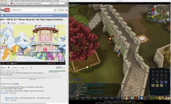Runescape Multi Screen