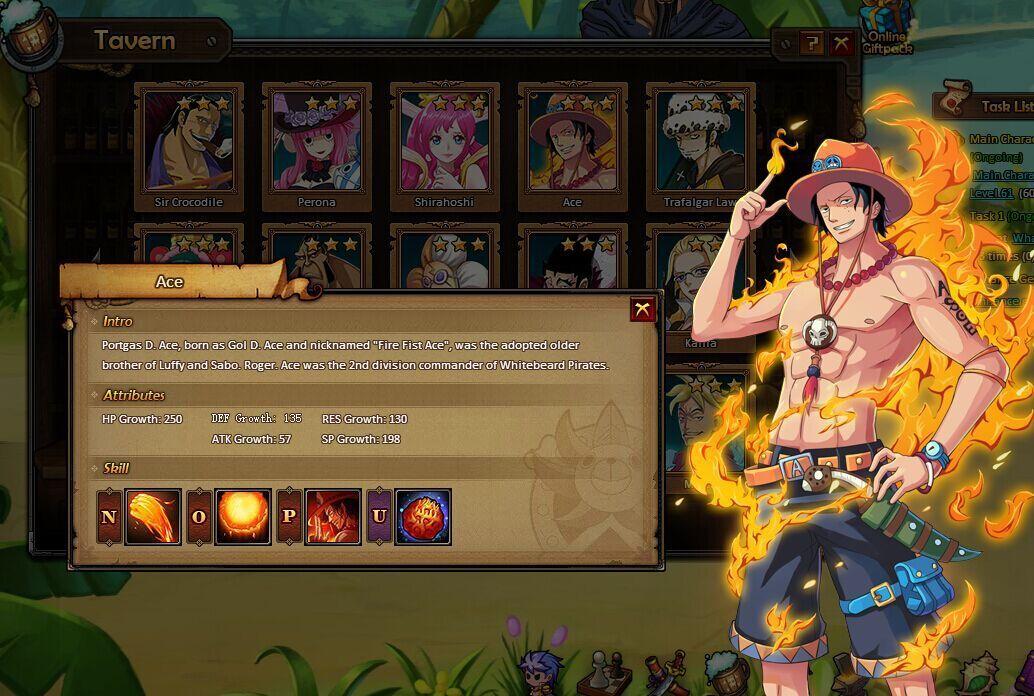 One Piece Online Spiel