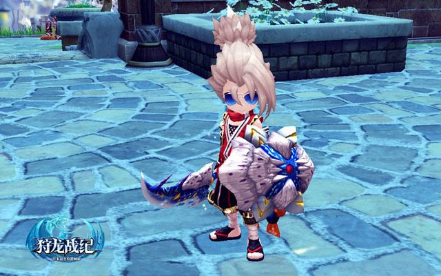 Dragomon Hunter Knight male