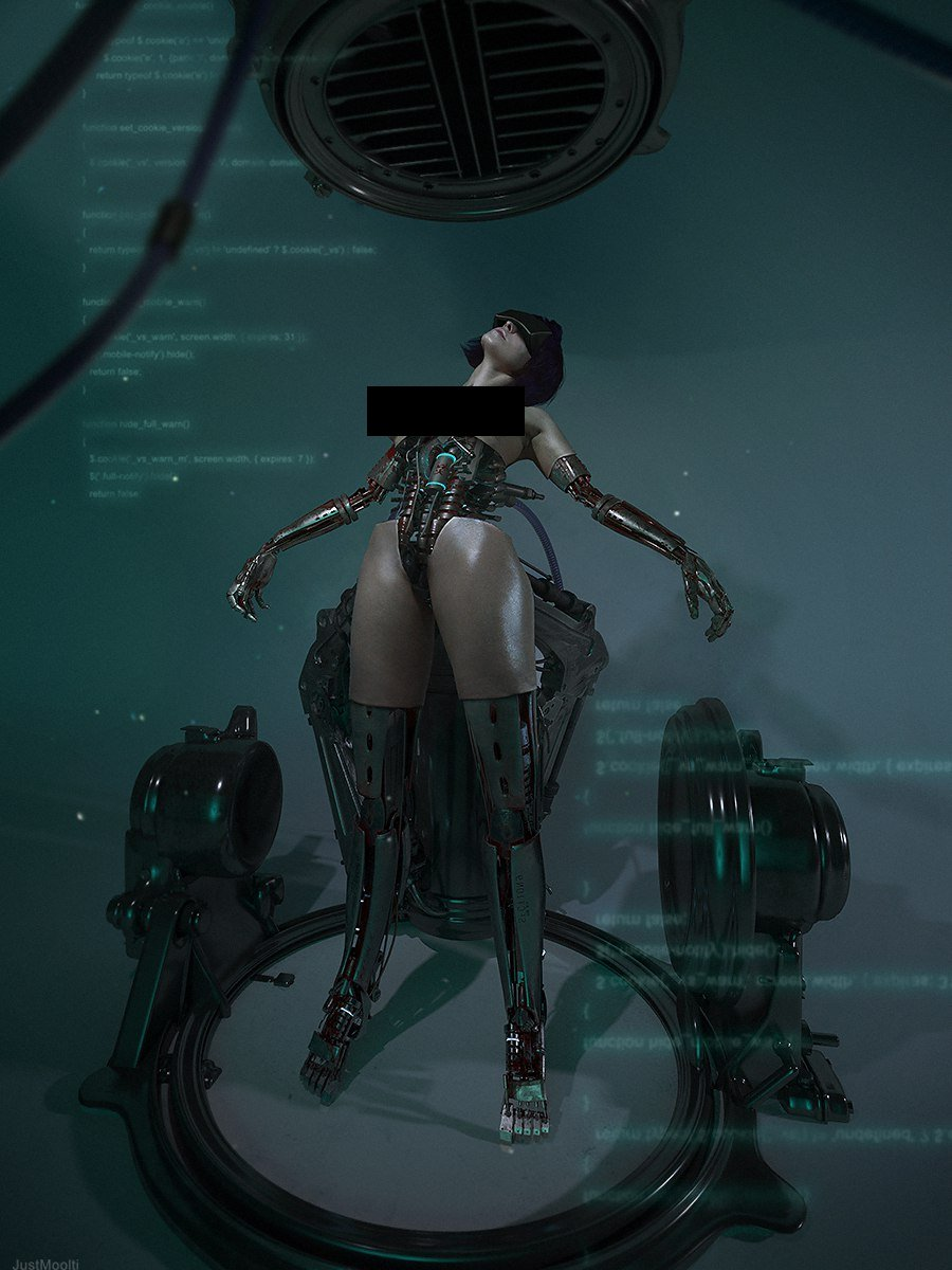 Ghost in the Shell Motoko (6)