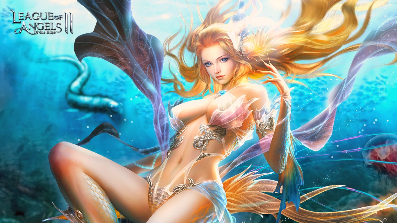 League of Angels 2 sexy wallpaper (15)
