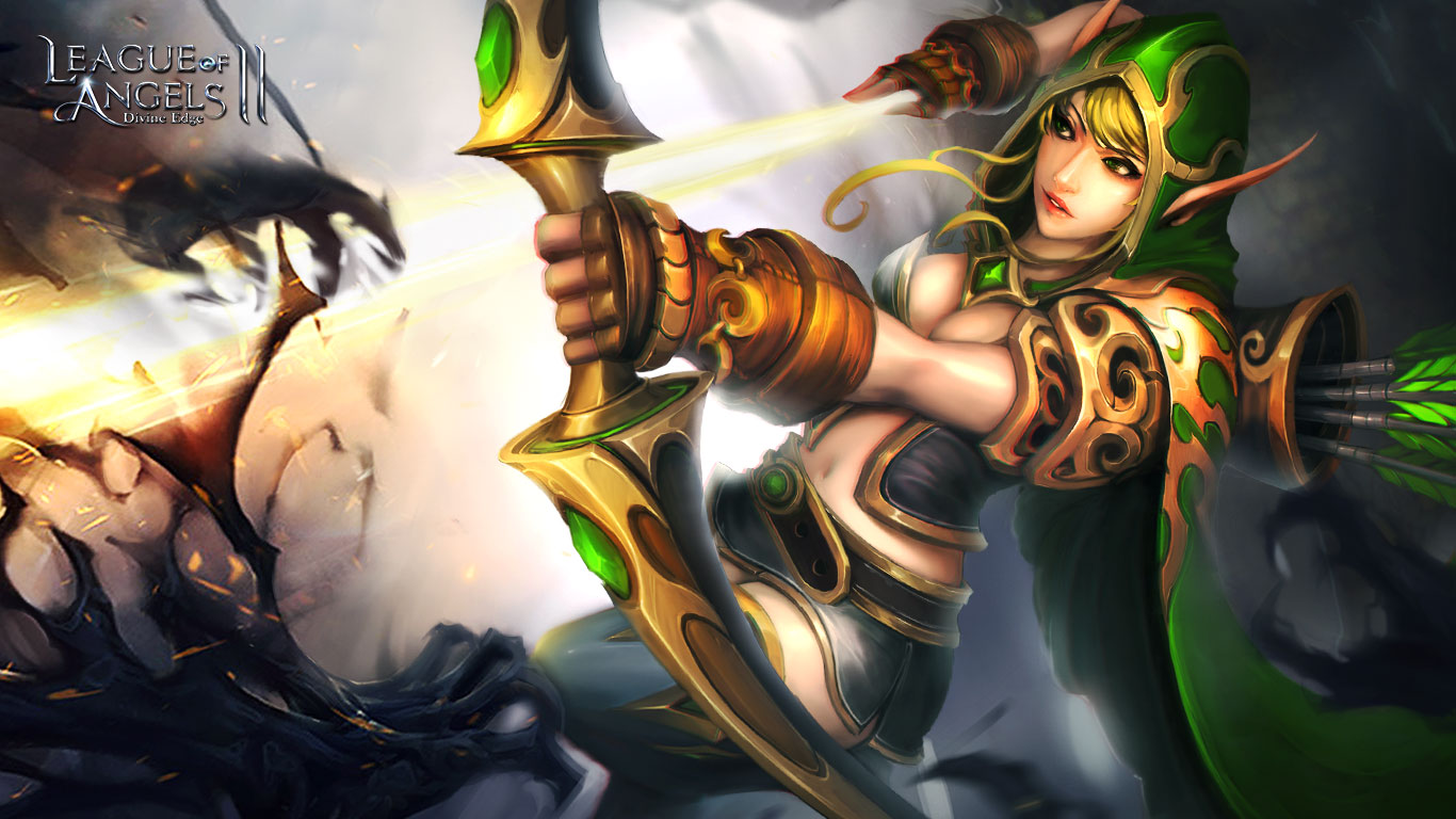 League Of Angels 2 Sexy Wallpaper 3 Freemmostation