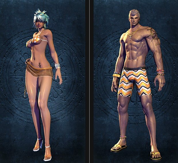 Blade & Soul Swimsuit Collection 2