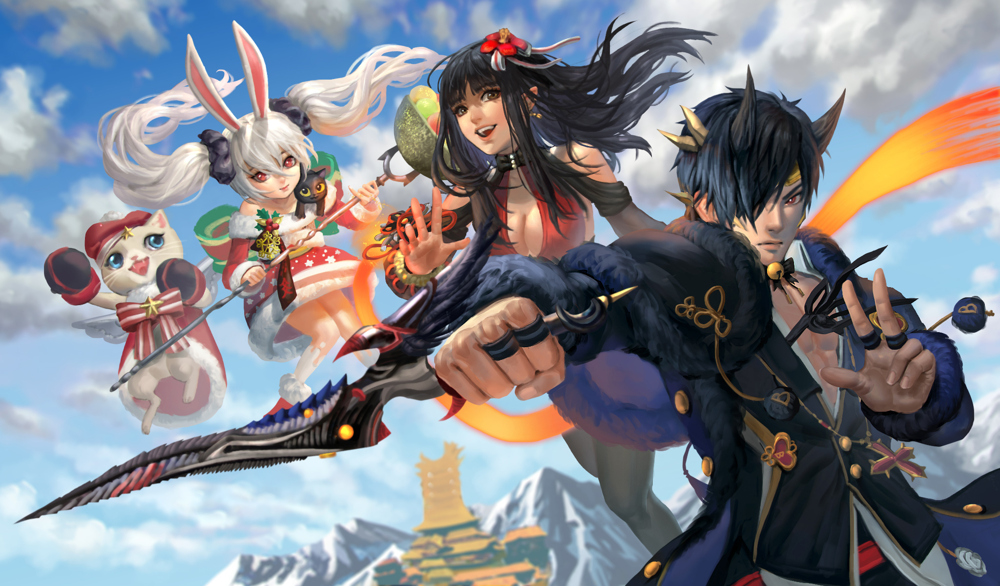 Mmorpg blade and soul sweepstakes and contests