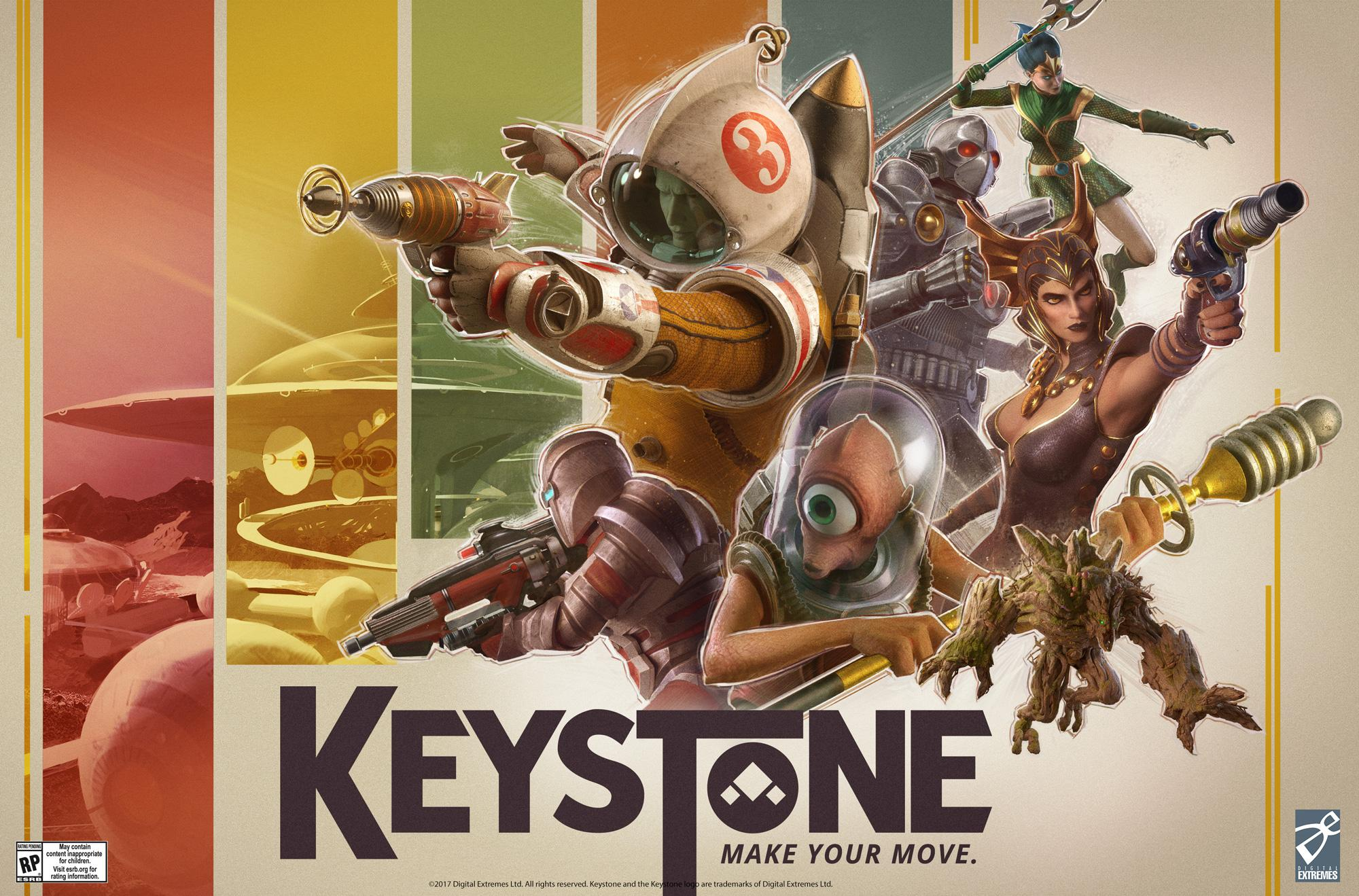 free Keystone shooter game