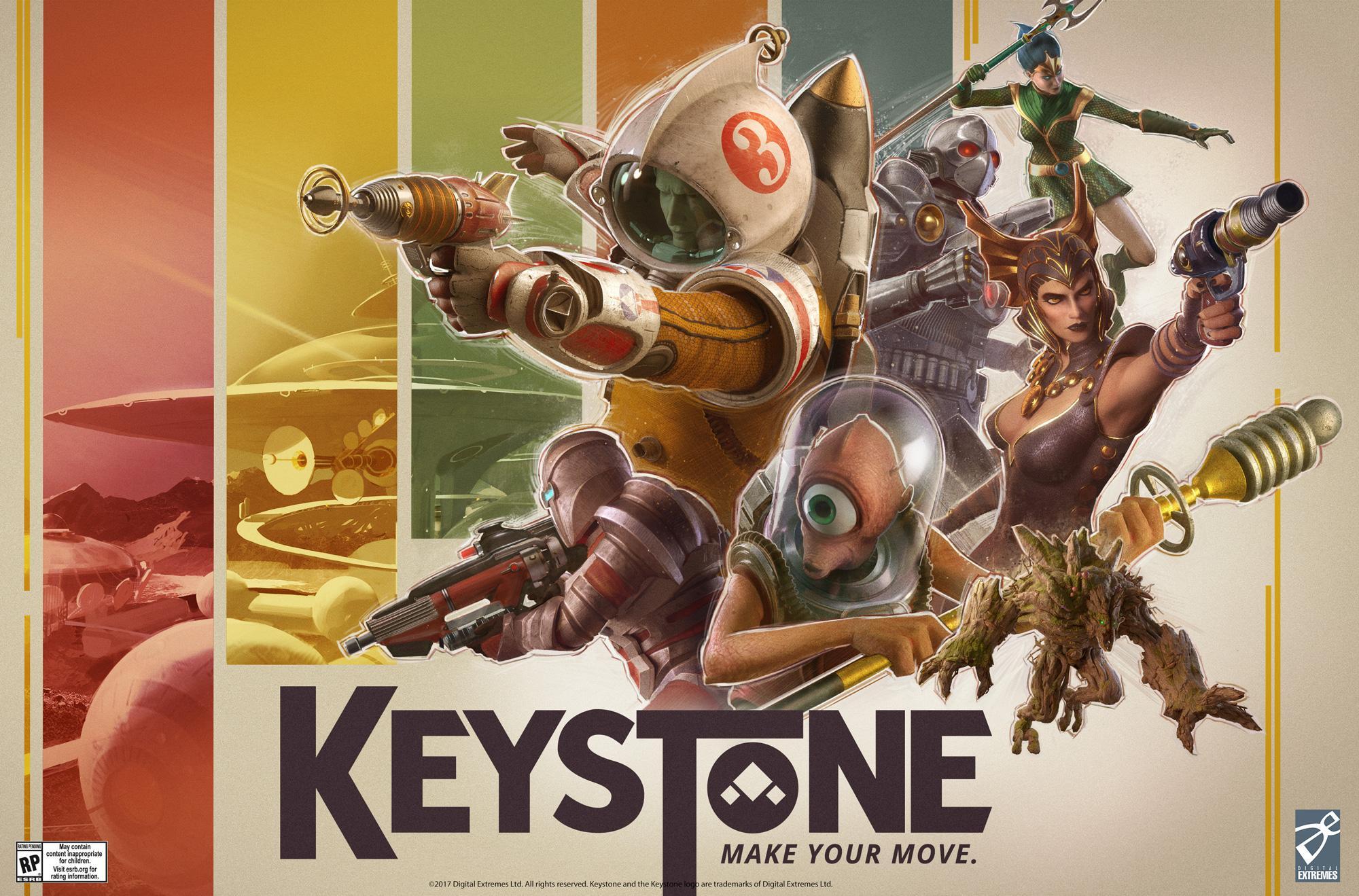 free Keystone shooter game