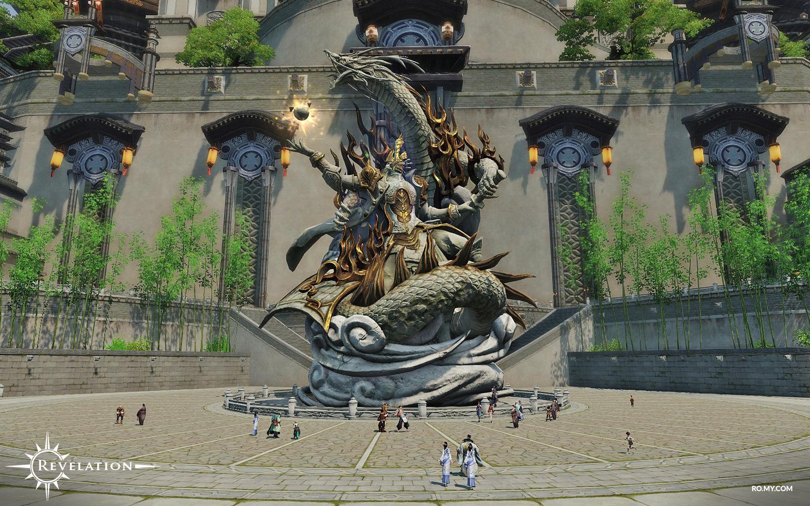 Revelation Online city Sidus Ur
