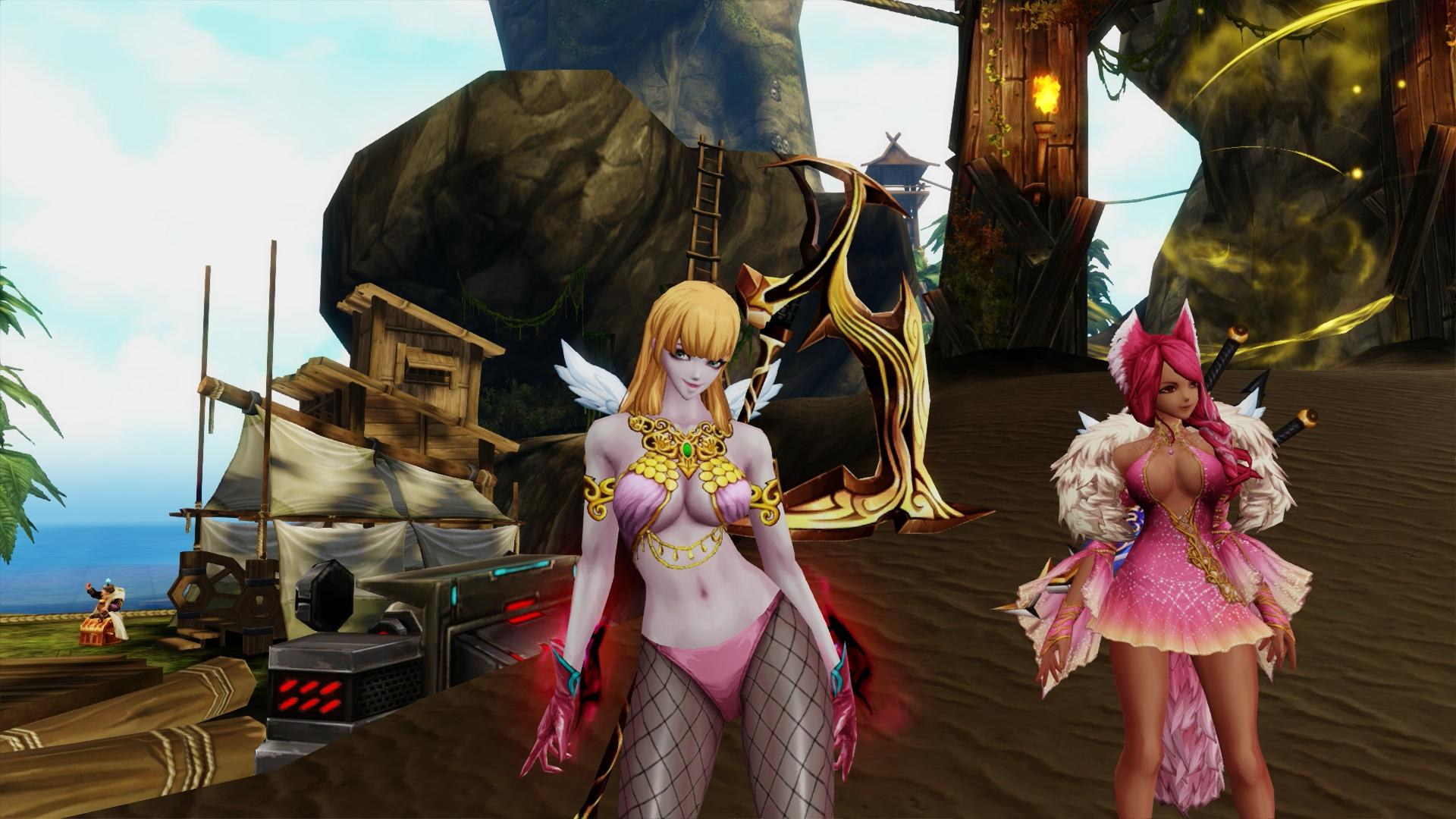 Kritika Online Red Costume