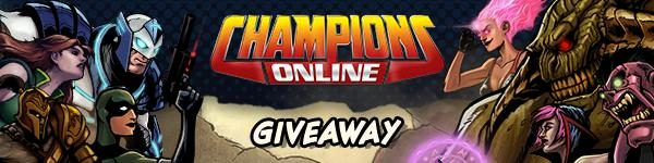 Champions Online Free Anniversary Pack Giveaway