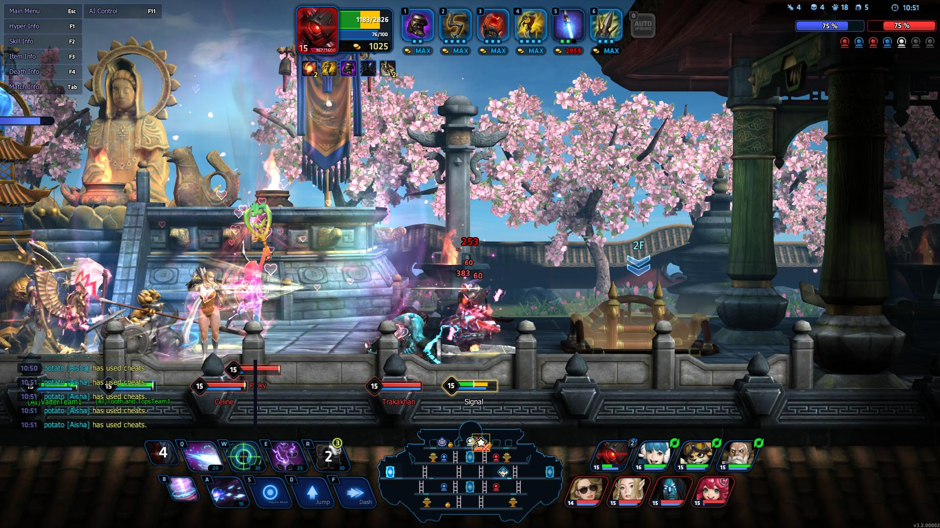 Hyper Universe fortress of the guardians