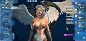 league of maidens sexy online game