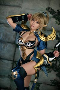Spiral Cats Cosplay Darklord Rise