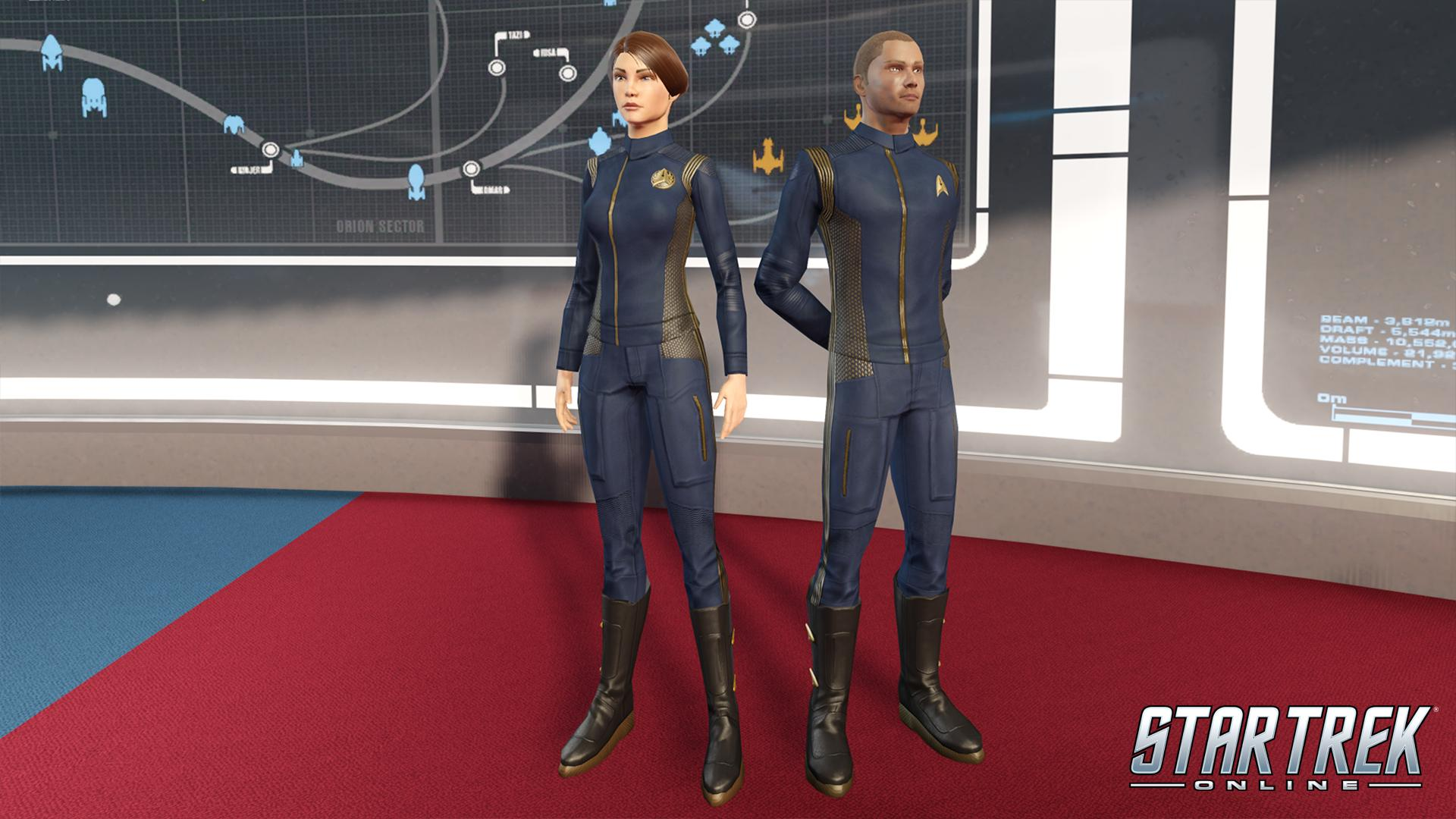 Star Trek Online is offering a free uniform and Type 7 Shuttle