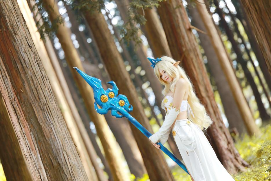 League of Legends Janna Cosplay
