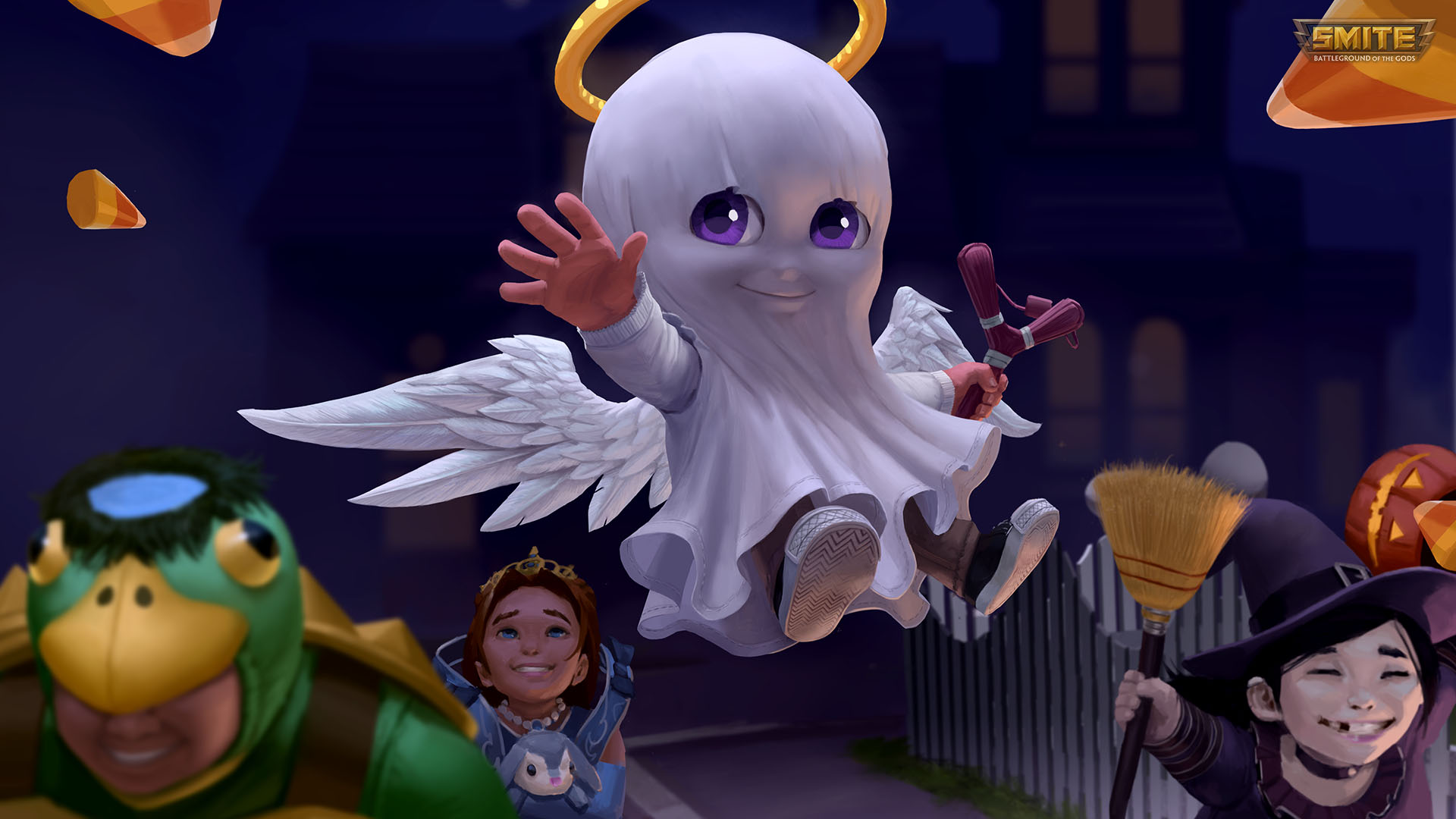 SMITE Free Cupid Trick or Treat Key Giveaway