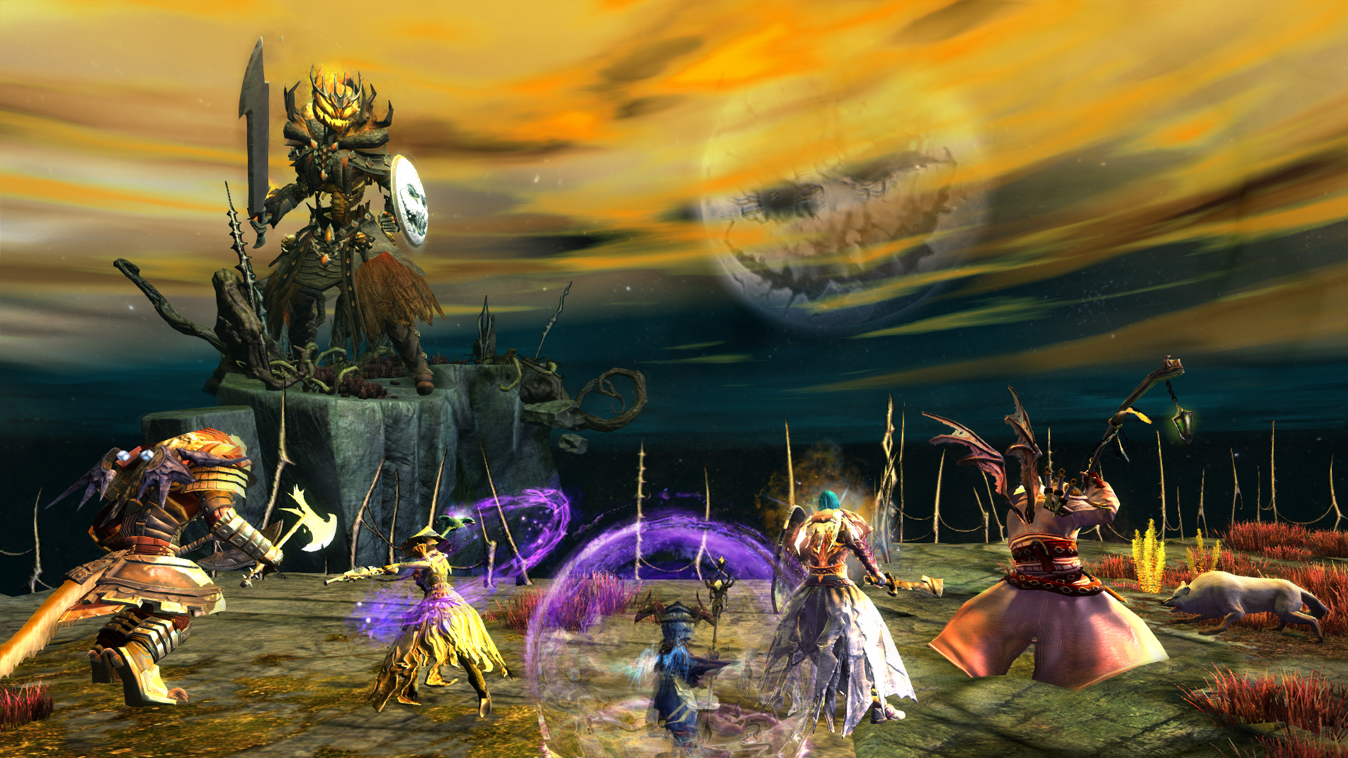 Guild Wars 2 celebrates Halloween with The Shadow of the Mad King