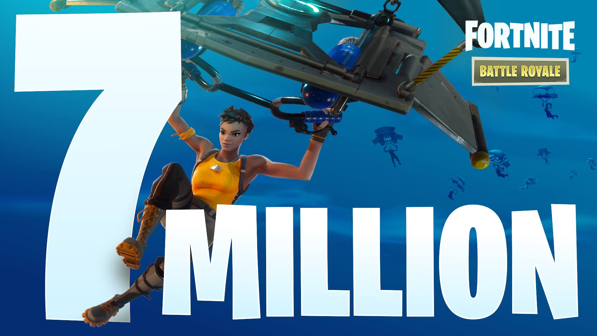 Fortnite has over 7 million players